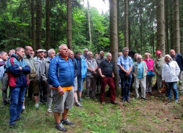 Waldbesitzer erkunden Sachsen