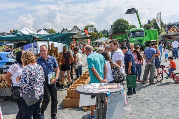Fotogalerie: Frankenwaldtag 2018 in Schwarzenbach am Wald